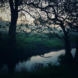 River Redlake, Sunrise