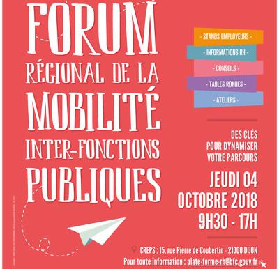 Forum régional de la mobilité       inter-fonctions publiques