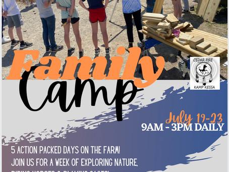 Family Camp at Kamp Kessa, Part Two