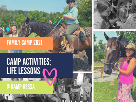 Camp Activities; Life Lessons