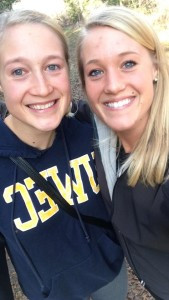 Lexi (right) and her sister Jamie (left)