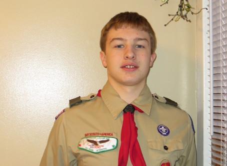 Volunteer Feature: Mitchel Abts, Boy Scout