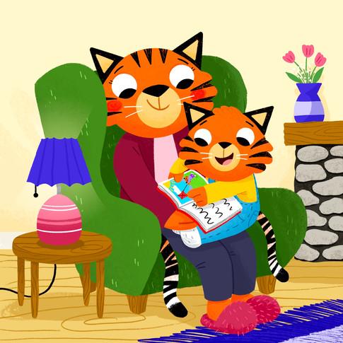 Tiger Reading Time.jpg