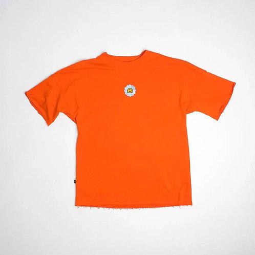 Футболка «КОЛХОЗ»  марокканский оранжевый