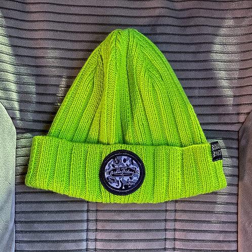 шапка@bidlobikes«ВЯЗАНКА ДЛИННАЯ» КОЛОР: САЛАТОВЫЙ