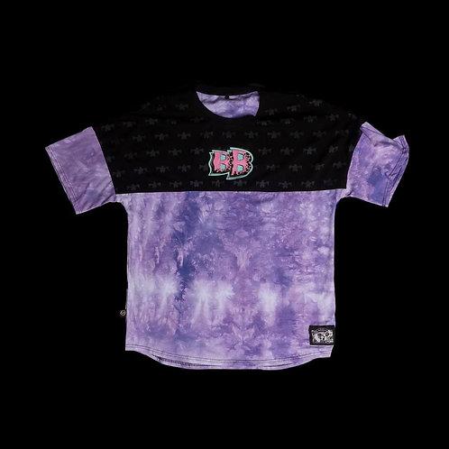 Футболка «многочлен» Фиолетовый tie dye