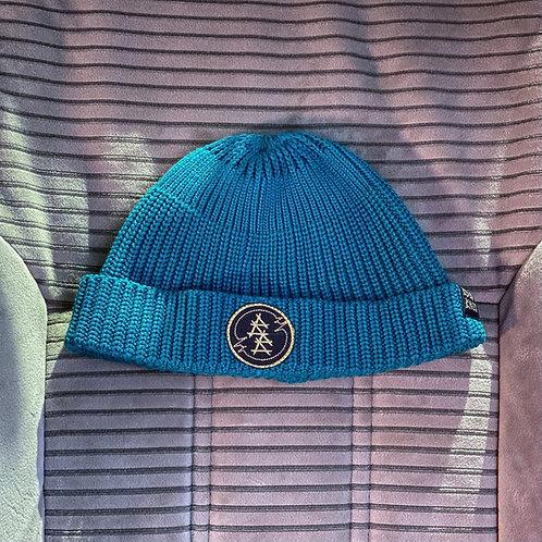 шапка@bidlobikes«ВЯЗАНКА КОРОТКАЯ» КОЛОР: БИРЮЗА