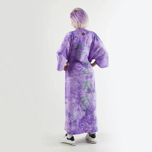 Платье Унисекс «Платье не платье» Тай Дай фиолетовый