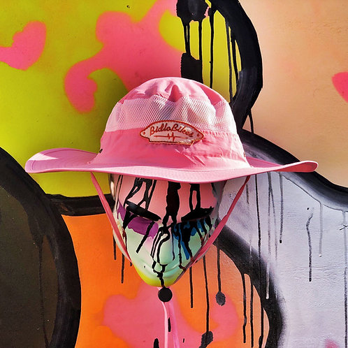 Панама «САДОВОД ЗАТЕЙНИК» Пастэльный Розовый