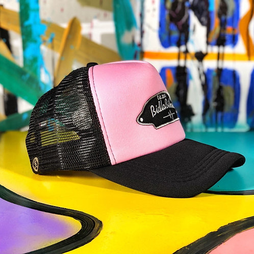 Trucker классика Черно / Розовый