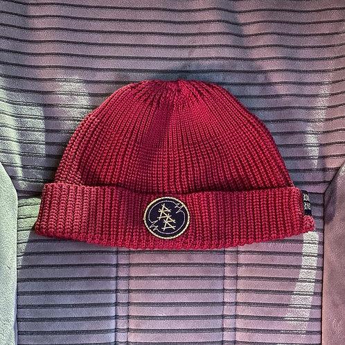 шапка@bidlobikes«ВЯЗАНКА КОРОТКАЯ» КОЛОР: ВИШНЯ