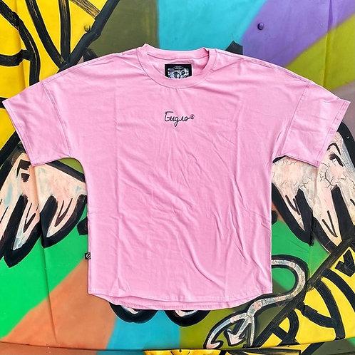 футболка «РОСПИСЬ» Розовый