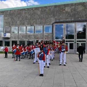 Prins Jørgens garde og Roskilde Garden
