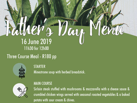 Father's Day Lunch - 16 June 2019