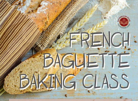 French Baguette Baking Class