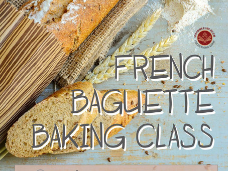 French Baguette Baking Class