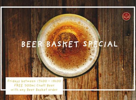 Beer Basket Special