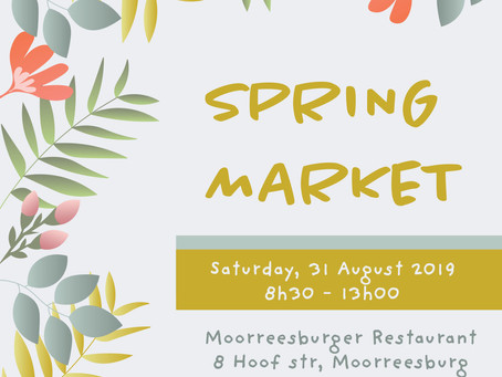 Join us for our annual Spring Market, as spring arrives this year!