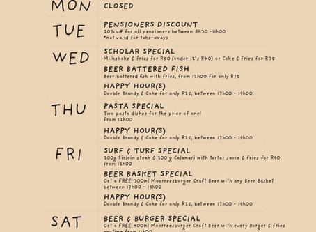 Moorreesburger Weekly Specials