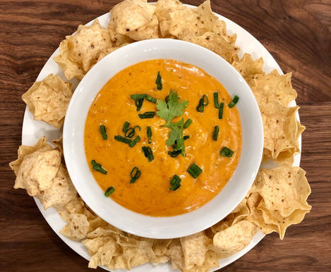 Nafsika's Garden Cheesy Vegan Queso Dip