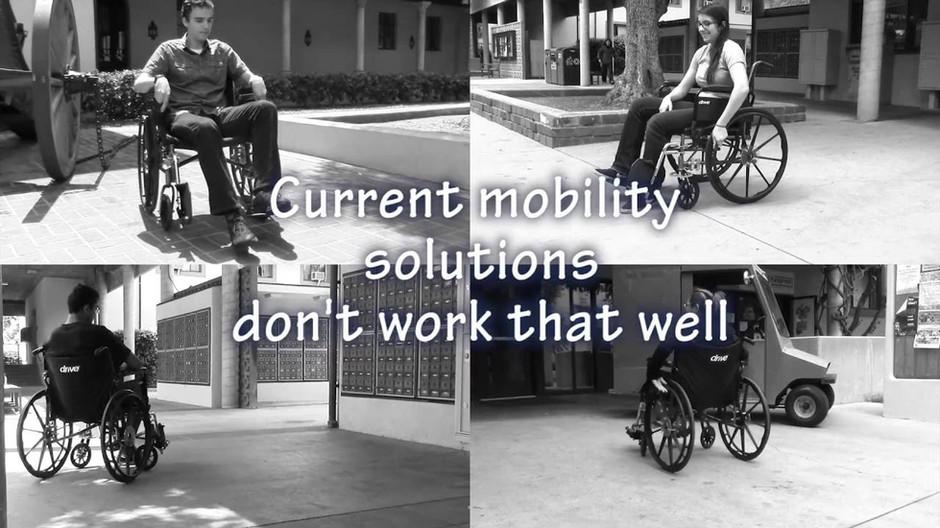 Hemiplegic Wheelchair Drive