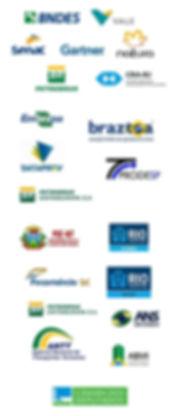 Clientes Nepomuceno - BNDES, VALE, SENAC, GARTNER, ATURA, PETROBRS, CRA-RJ, EMBRAPA, PETROBRAS DISTRIBUIDORA, DATAPREV, Procuadoria Geral de Mato Grosso, IplanRio, Prefeiturado Rio, Fecomércio, ABMI, Petrobras Distribuidora, ANTT, ANS, secretaria municipal da prefeitura do rio