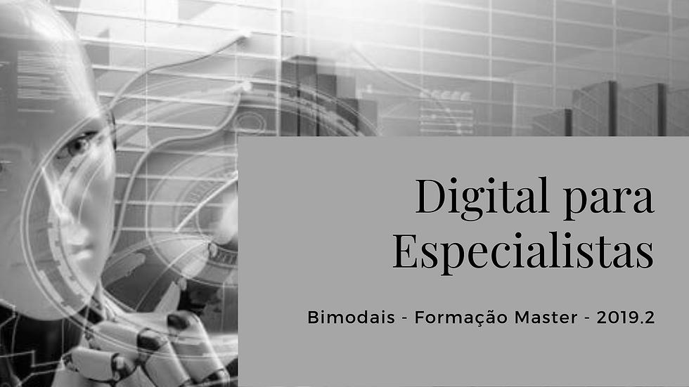 Digital para Especialistas