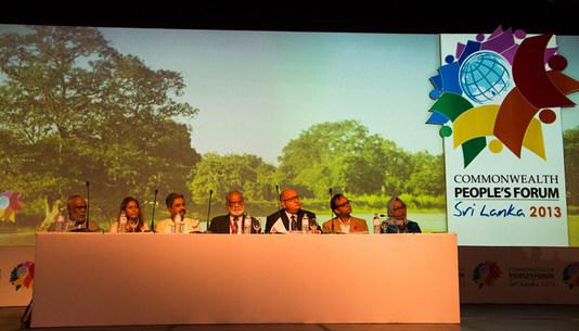 Commonwealth People's Forum 2013