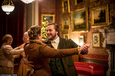 Benjamin Huntsman in A Very Victorian Christmas '16