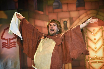 Friar Tuck in Robin Hood '18