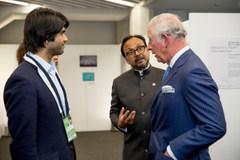 Vijay & the Prince of Wales at CPF 2018