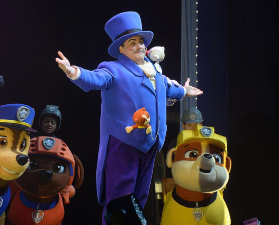 Mayor Humdinger in Paw Patrol LIVE! '17