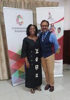 With Nana Asantewa Afadzinu
