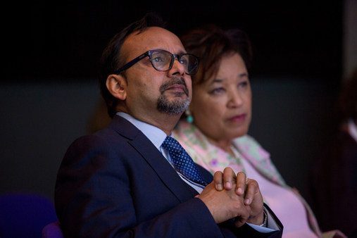 Vijay at the Commonwealth People's Forum 2018