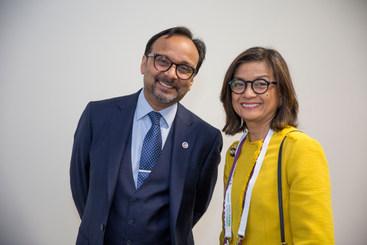 Vijay with Myn Garcia