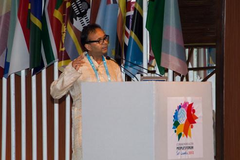 Commonwealth People's Forum 2013 Sri Lanka