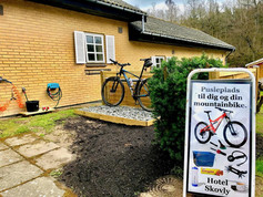 Gratis pusleplads til dig og din bike
