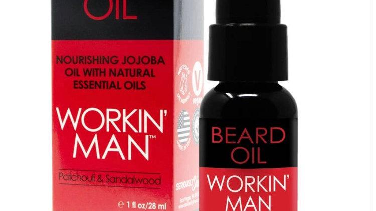Workin' Man Beard Oil