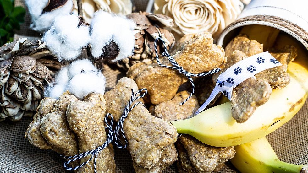 Tower's Treats Peanut Butter Banana Dog Treats
