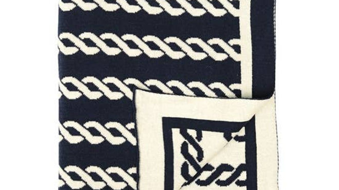 Nautico Rope Knittted Throw