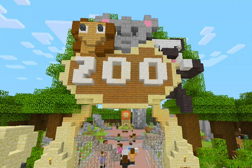 Design a Zoo with Minecraft - 6 weeks