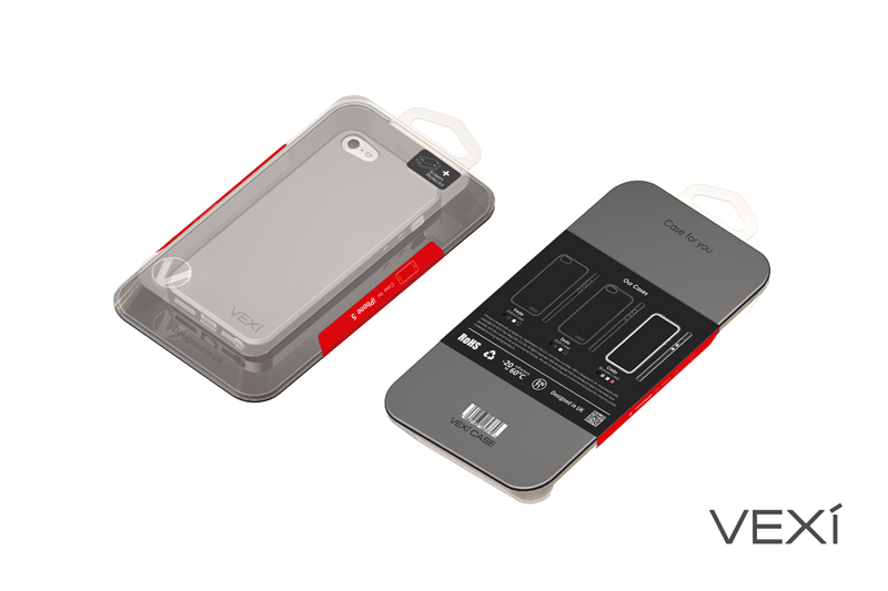 VEXI mobile phone case packaging