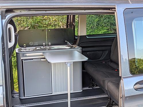 IN STOCK - Vangear Maxi Fridge Campervan Pod - Grey