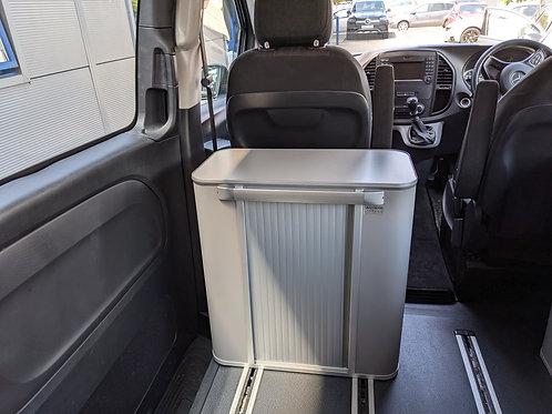 IN STOCK-Nano Campervan Storage Pod-GREY