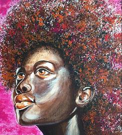 Kayla. Acrylics