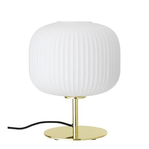 Bloomingville, Lampe Bord - H32Ø25 - Guld metal