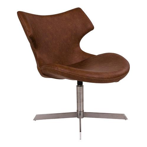 House Nordic, Loungestol - Zampi, brun vintage