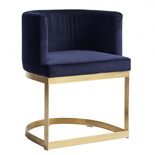 Nordal,Lounge Spisebordsstol - blå