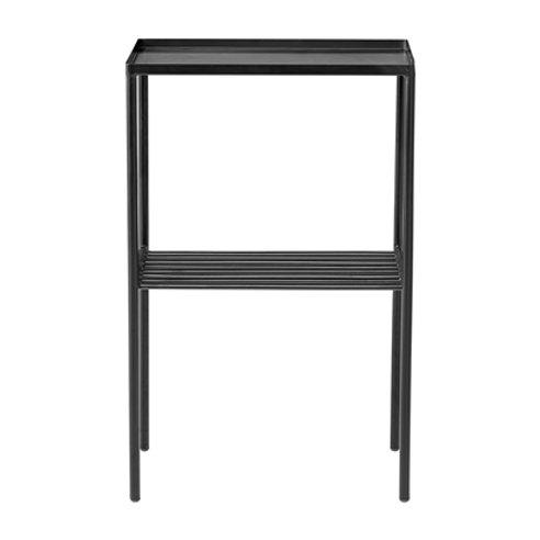 Bloomingville, Sidebord Grid - sort metal