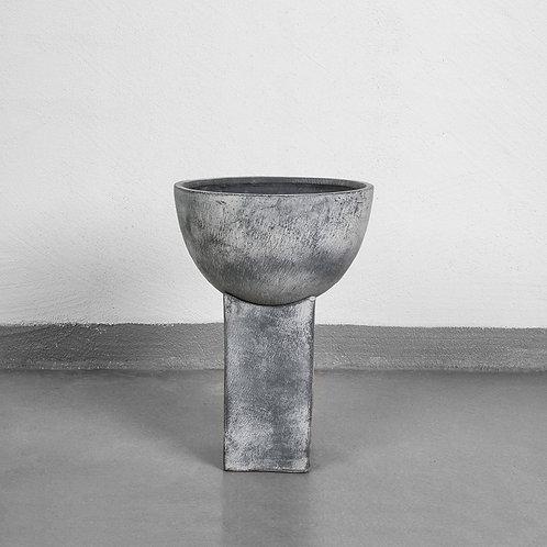 101CPH, Vase - Block, grå - lille